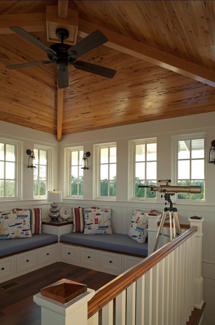 Coastal nautical loft