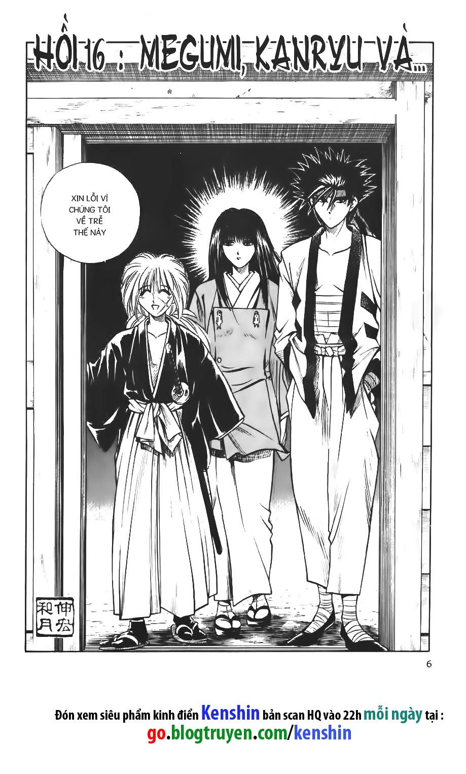 Rurouni Kenshin chap 16 trang 3