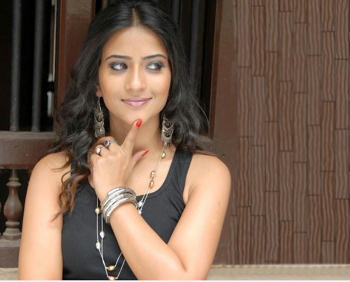 Aditi Sharma In Black Hefty collection