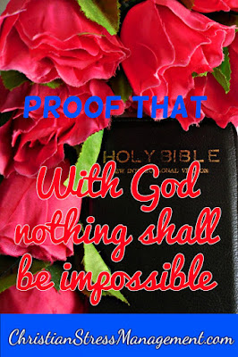 With God nothing shall be impossible
