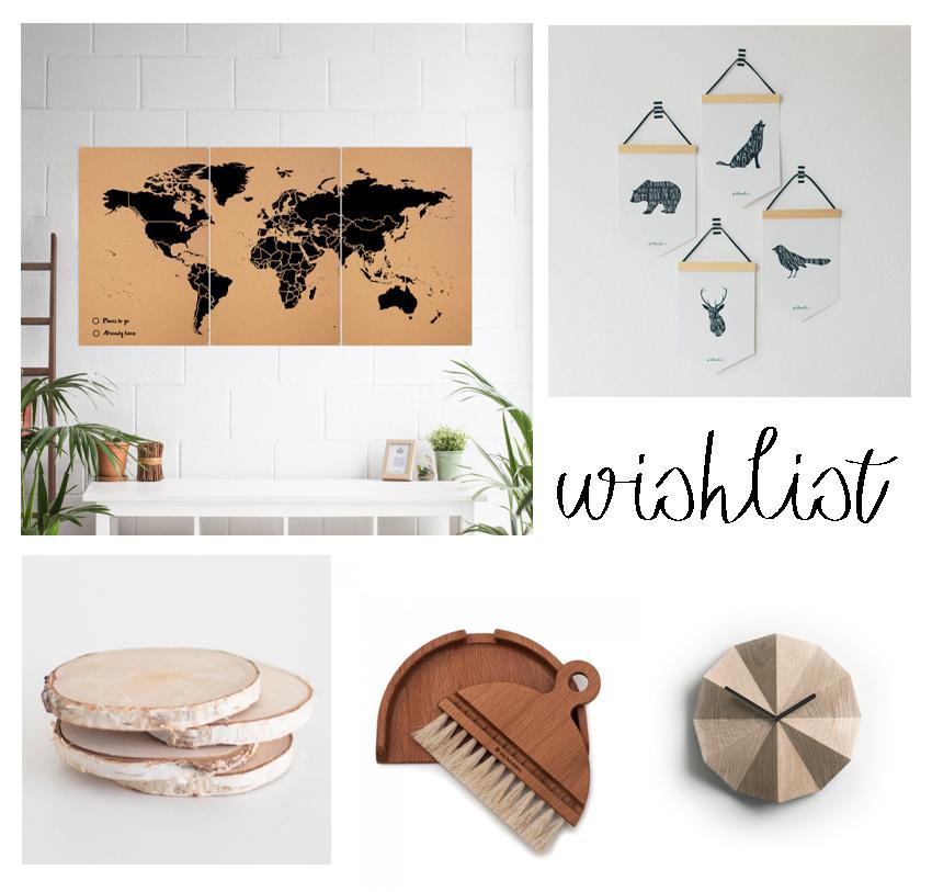 lista productos decoración