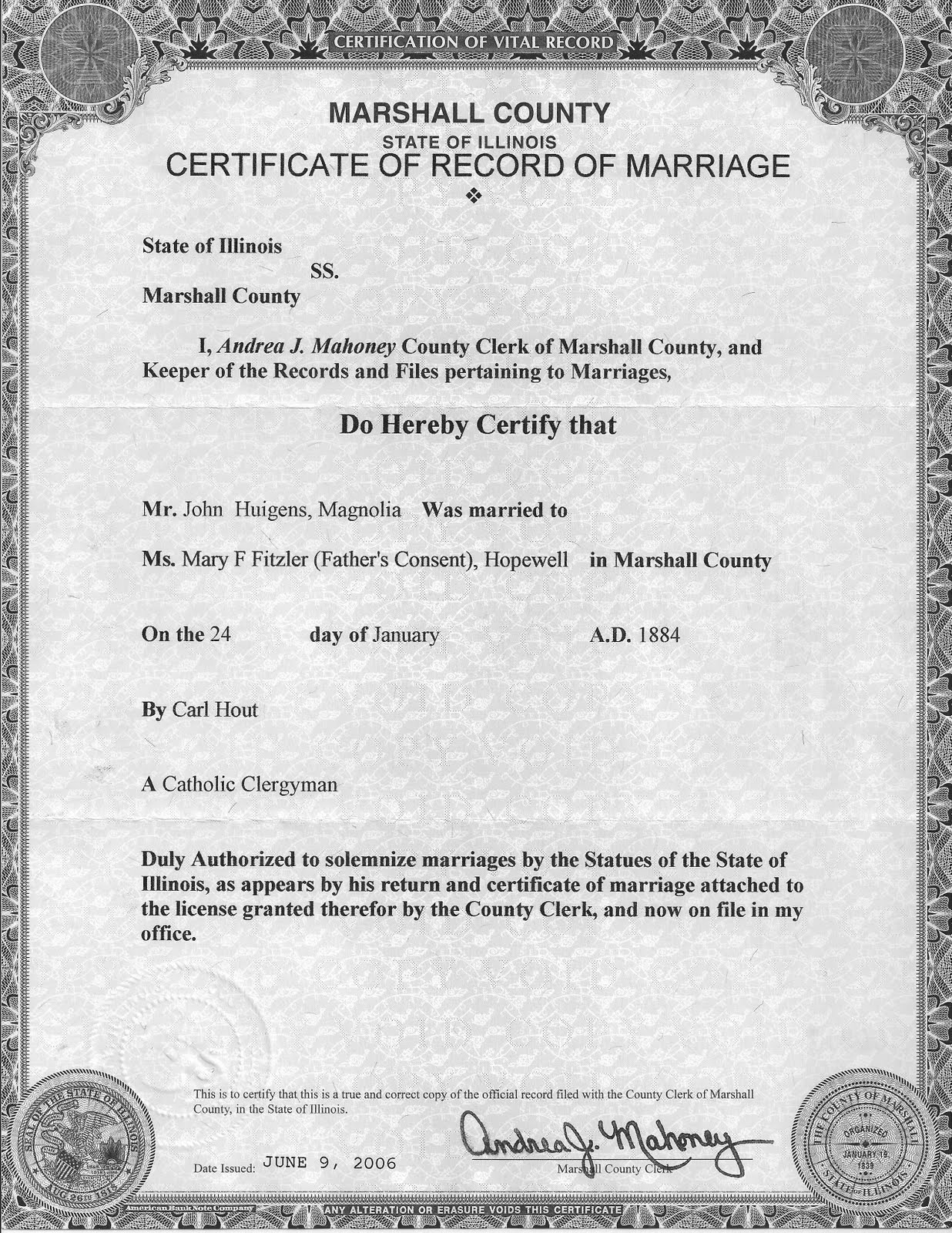 illinois marriage licenses lasalle county