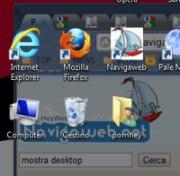 Come usare il tasto Mostra desktop su Windows