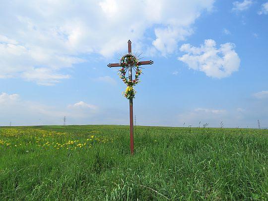 Krzyż przydrożny.