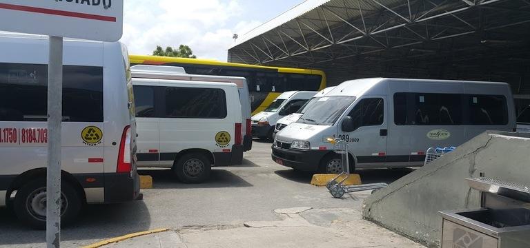 Locação de vans em Fortaleza