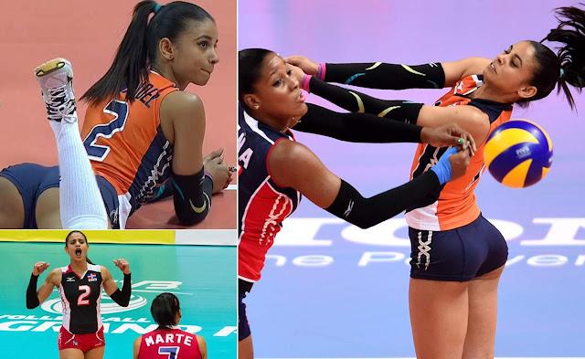 Sexy volley: Winifer María Fernández Pérez