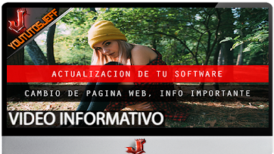 Cambio temporal de web | Importante leer