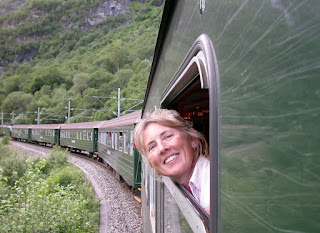 Memorable Eurail moments. Photograph of Janie Robinson, Travel Writer