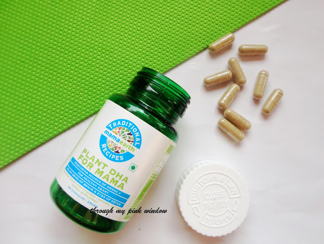 Mamaearth Plant based DHA for mama review