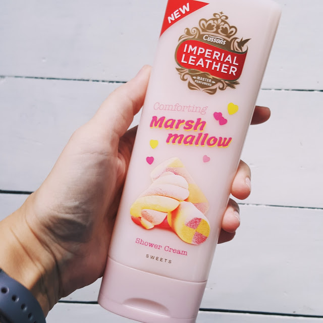 Imperial lather marshmallow shower cream