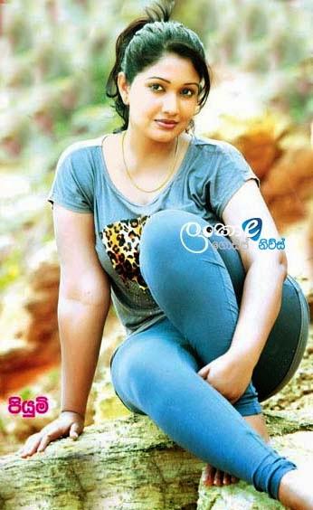 Actress Piumi Botheju Wedding Anniversary ~ Sri Lankan