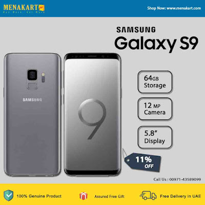 Samsung Galaxy S9 Plus Smartphone , Grey