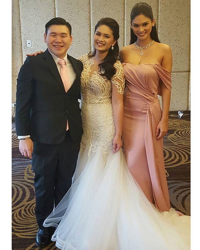 Vic Sotto and Pauleen Luna wedding photos
