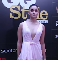 Alia Bhatt looks beautiful stunning in a Light Pink Deep neck Gown ~  Exclusive 031.jpg