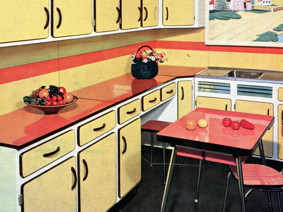 Deco Cuisine Style Annee 60