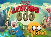 juegos hora de aventura legends of ooo