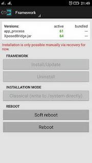 xposed installer Lenovo A7000
