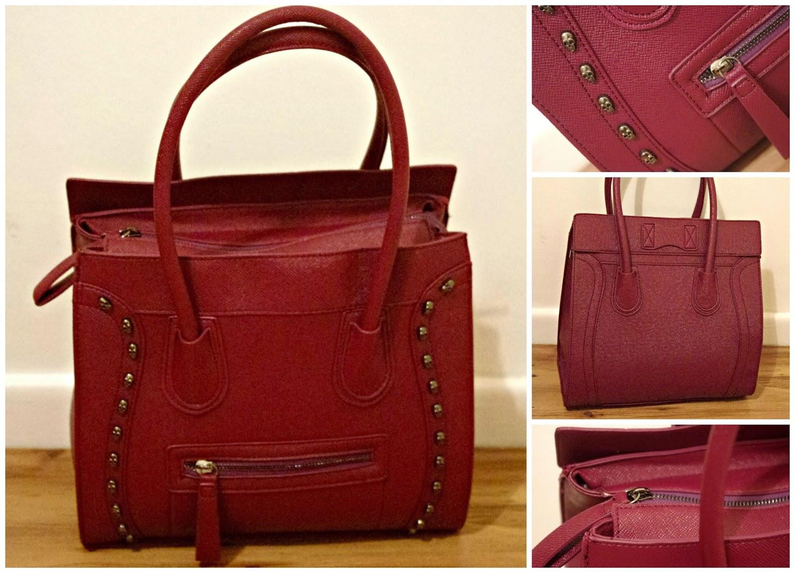 Pink Fawn Bag