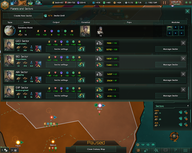 Sector Management | Stellaris Screenshot