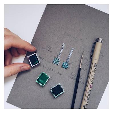 jak szkicować biżuterię
