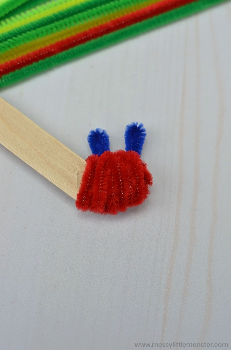 the very hungry caterpillar craft for preschoolers