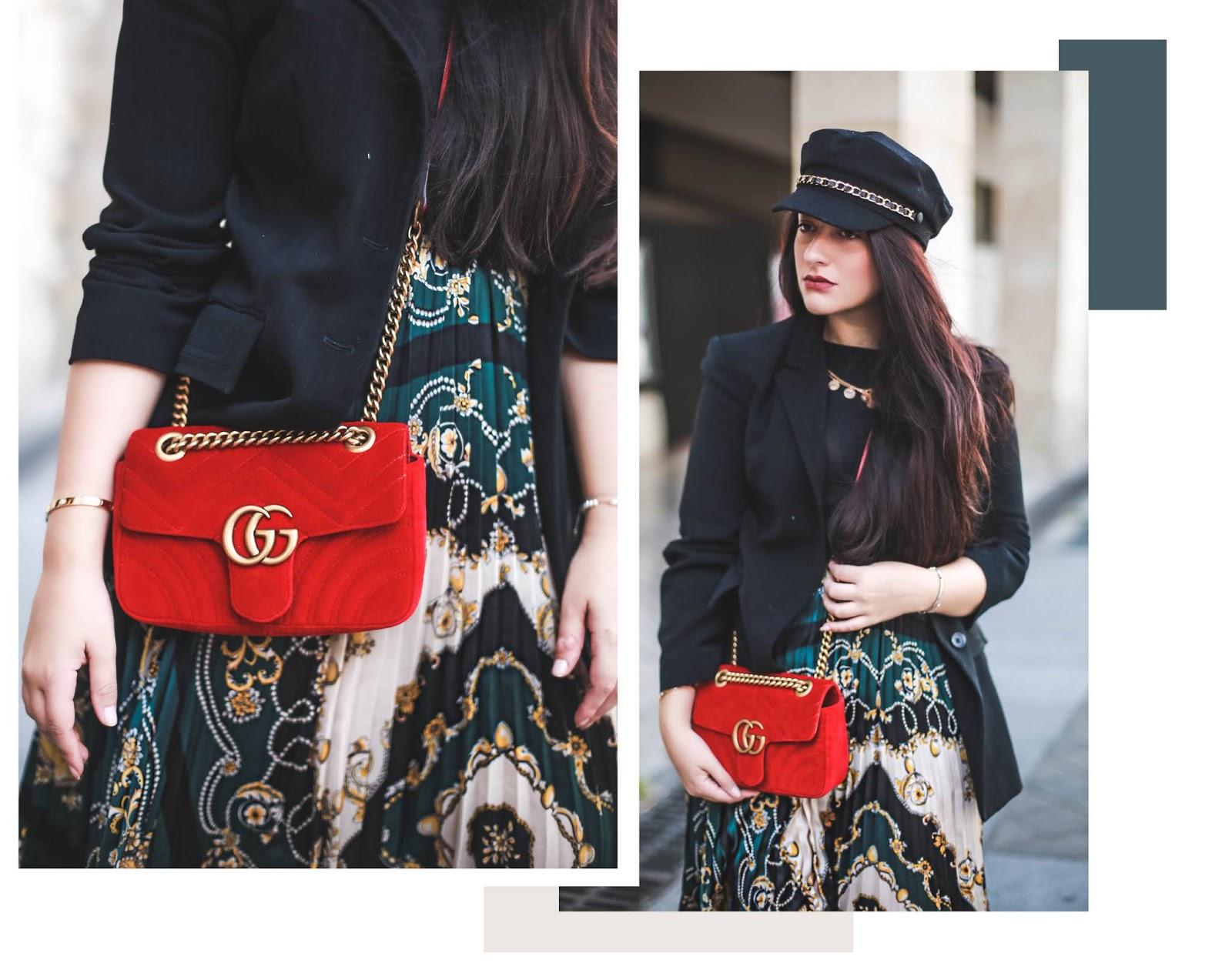 imprimé foulard blog mode