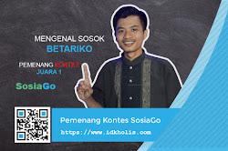 Mengenal Sosok Betariko: Pemenang Kontes SEO dan Blog Review SosiaGo