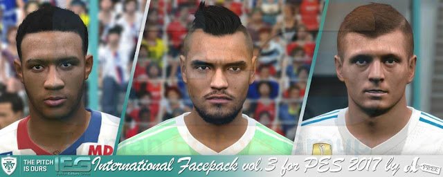 International Facepack PES 2017