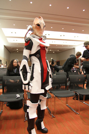mass effect mordin cosplay