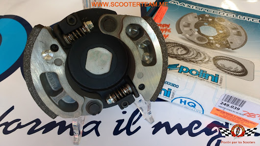 "CLUTCH POLINI ""MAXI SPEED CLUTCH 2G FOR RACE"" referencia 249.039"