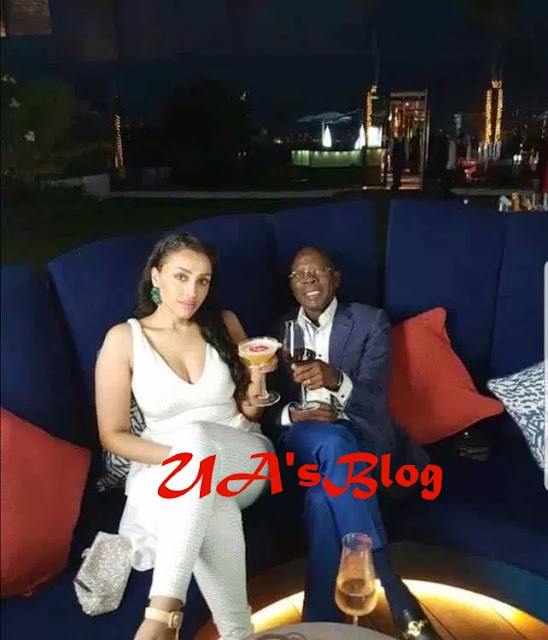 See Picture Of Oshiomhole & His Stunning Wife Chilling In US After DSS Saga