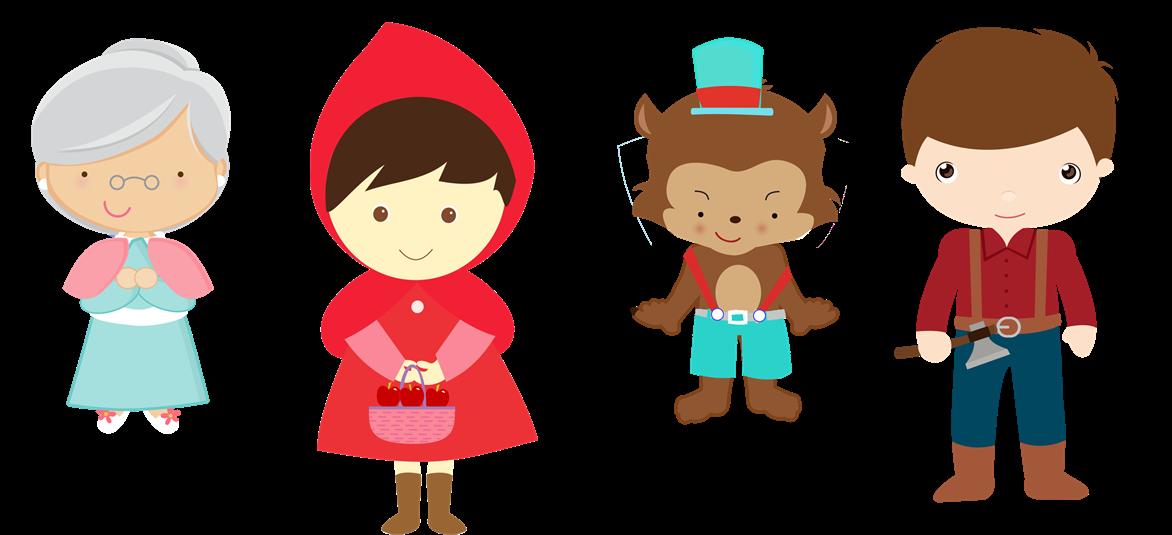 Chapeuzinho Vermelho Personagens