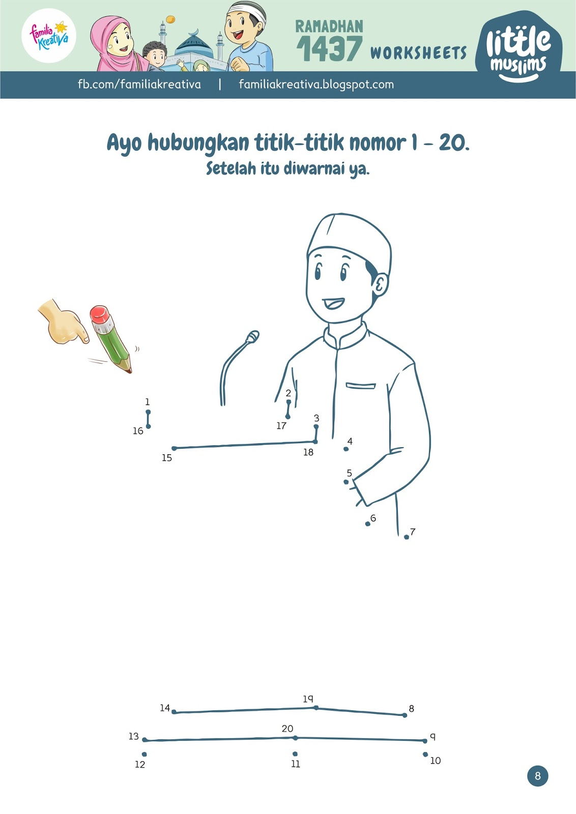 Satu Lagi Download Gratis Worksheets Ramadhan Kece Seri