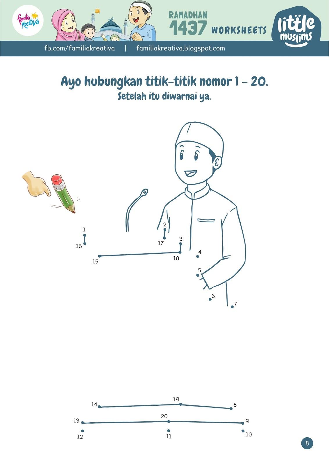 Satu Lagi Download Gratis Worksheets Ramadhan Kece Seri