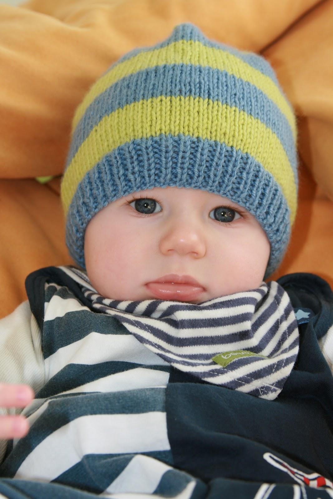 Einfache Babymütze Stricken Desleutelbenjezelf Blog