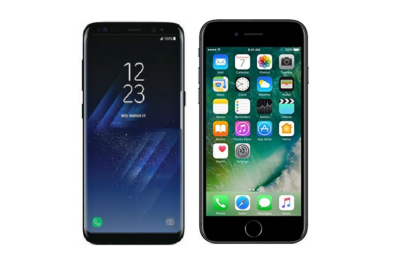 Samsung Galaxy S8 vs Apple iPhone 7: Specifications ...