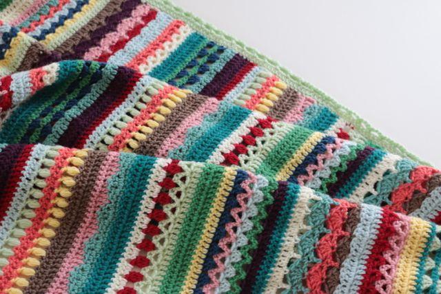 Spice Of Life Crochet Along Blanket