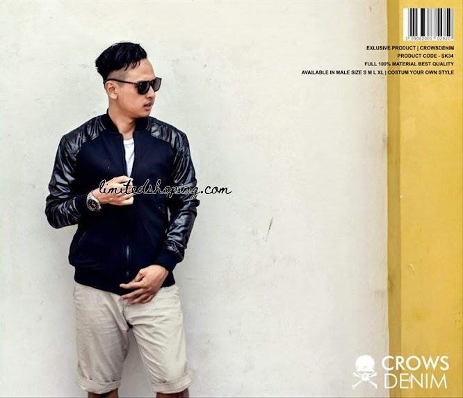 limited shoping jaket baseball sk34