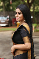 Poorna in Cute Backless Choli Saree Stunning Beauty at Avantika Movie platinum Disc Function ~  Exclusive 068.JPG