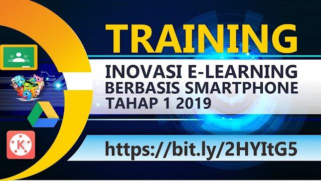 Daftar Sementara Peserta Training Inovasi E-Learning Tahap I 2019