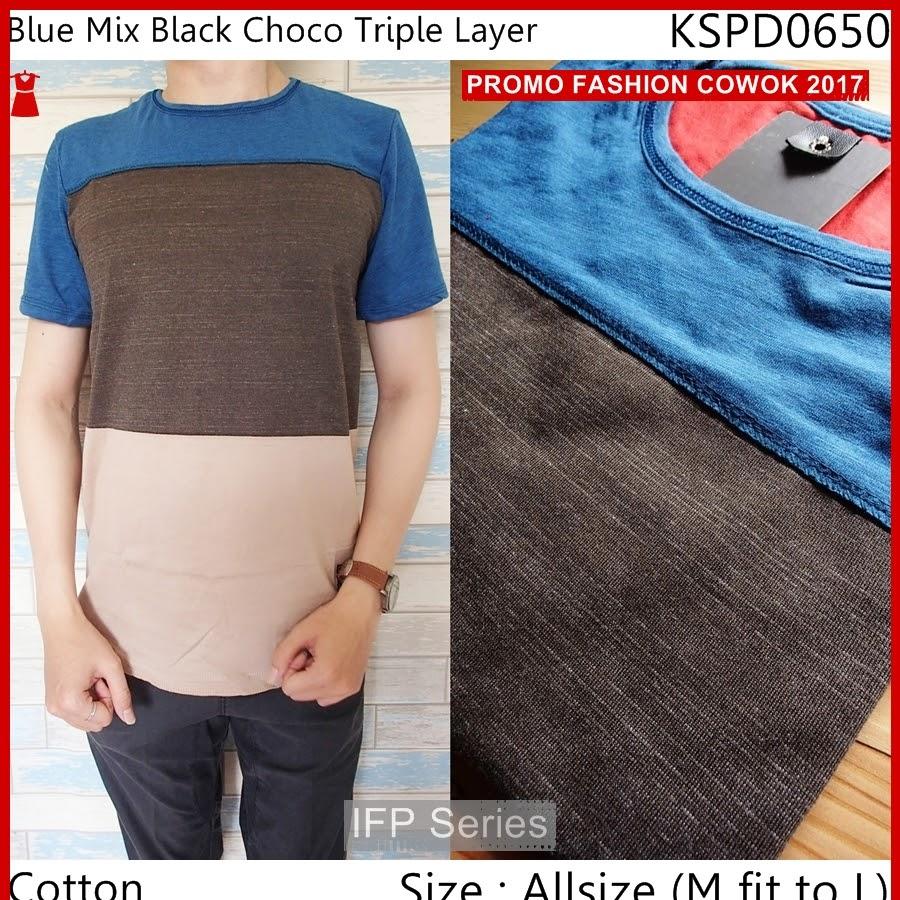 BIMFGP025 Choco Kaos Lengan Pendek Pria PROMO
