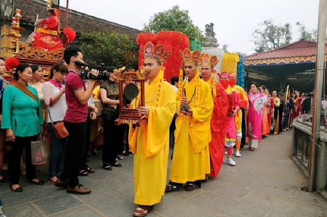Phu Giay festival in Nam Dinh province 3