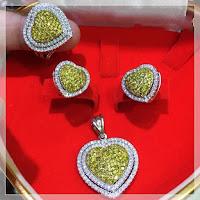 Jual Set Perhiasan Berlian Eropa