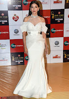 Gauhar Khan in White Walk the Red Carpet of Zee Awards 2017i ~  Exclusive Galleries 007.jpg