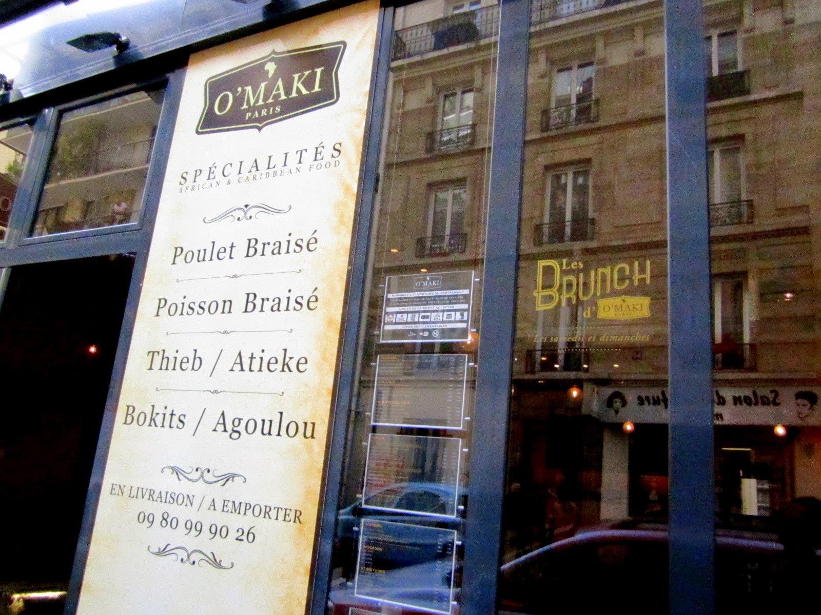 Restaurant Africain O'Maki - Paris 18e