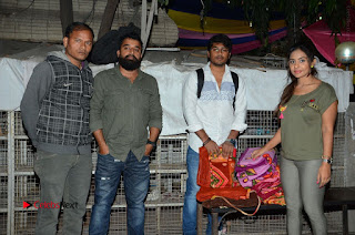 Actress Sri reddy (apthatrust director) Distrubuted Blankets for Orphans at Sai Baba Temple  0015.JPG