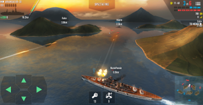 battle of warship Android