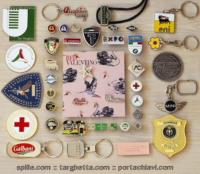 le spillette personalizzate di www.spille.it