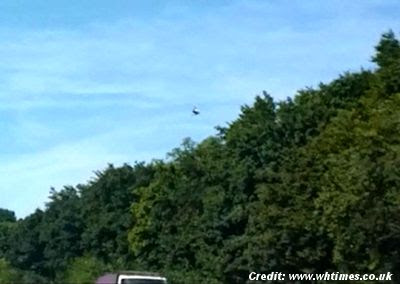 Mystery of UFO Photographed Above A1(M) in Hertfordshire