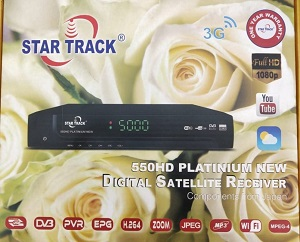 Star track receiver 550 HD Platinium New